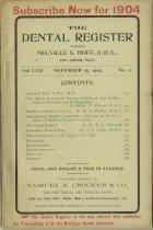 Image of The Dental Register - 0966.0246