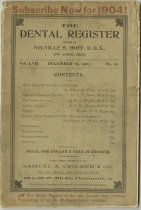 Image of The Dental Register - 0966.0247