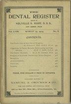 Image of The Dental Register - 0966.0255