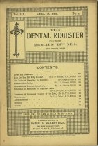 Image of The Dental Register - 0966.0262