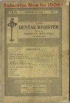 Image of The Dental Register - 0966.0269