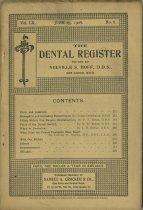 Image of The Dental Register - 0966.0274