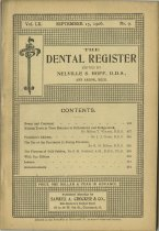 Image of The Dental Register - 0966.0277