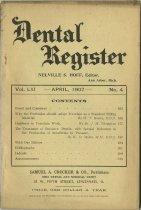 Image of The Dental Register - 0966.0283
