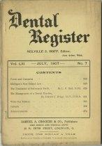 Image of The Dental Register - 0966.0286