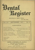 Image of The Dental Register - 0966.0288