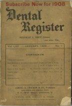 Image of The Dental Register - 0966.0292