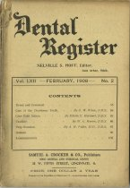 Image of The Dental Register - 0966.0293