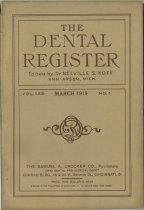 Image of The Dental Register - 0966.0307