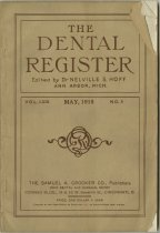 Image of The Dental Register - 0966.0309