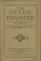 Image of The Dental Register - 0966.0313