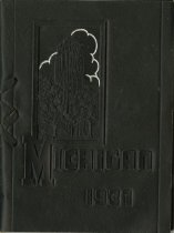 Image of University of MIchigan Commencement Booklet 1937
