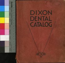 Image of Dixon Dental Catalog 1920