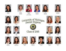 Image of U-M School of Dentistry- Dental Hygiene Class Photograph Collection - 0293.2016