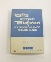 Image of Trubyte Biofrom shade guide in box