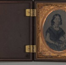 Image of Ambrotype- Isabelle Jane Hearne Caldwell
