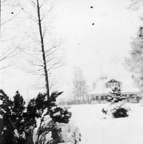 Image of Snuggs Family Home in Snow, 1941