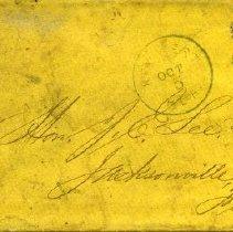 Image of 1959.13.01 - Correspondence, Joseph E. Lee.