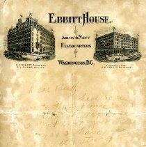 Image of 1959.13.05 - Correspondence, Miscellaneous.