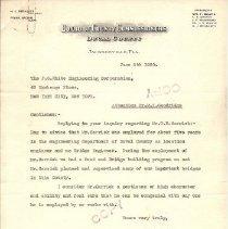 Image of J.F. Hammon Letter