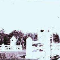 """Image of 2007.003.0218 - """"Little Pottsburg Creek Bridge, Hogan and Silversmith"""""""