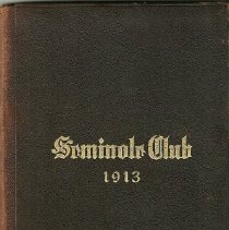 Image of 2011.15 - 1913 Seminole Club Charter, Rules, Officers and Members