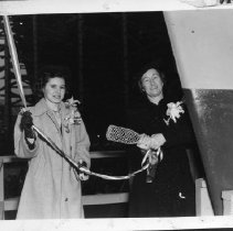 Image of MC14.11S.87 - Christening of the S.S. Royal S. Copeland on January 11, 1944.