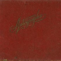 Image of Autograph Book
