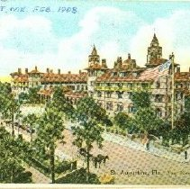 Image of St. augustine, Fla.  Ponce De Leon from The Cordova