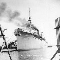 "Image of 2003.001.083 - ""Ashbee"" at the Merrill-Stevens Corporation docks, 06/10/1919."