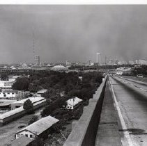 Image of 757 - Driving southwest towards downtown Jacksonville, 1966.