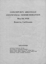 Image of Memorial Program 5/24/1958