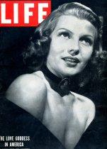 Image of Rita Hayworth on Cover of Life Magazine