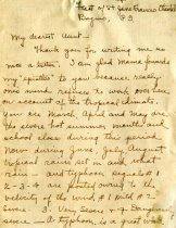 Image of Letter - Page 1