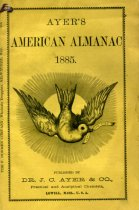 Image of Cover of Dr Ayer's Almanac 1885