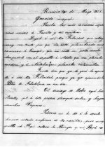 Image of page 1 letter