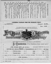 Image of Fire Insurance Policy