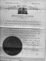 Image of Articles of Incorporation