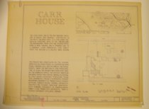 Image of Carr House Plans - 1995.016.0002
