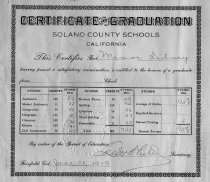 Image of Graduation Certificate
