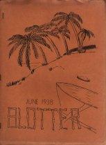 Image of BHS Blotter 1938 - 2002.004.0014