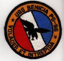 Image of USS Benicia Patch - 2008.040.0004
