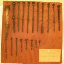Image of display of nails - 2011.012.0001