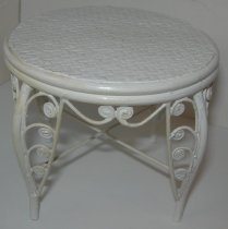 Image of Miniature Wicker Table - 2013.008.0013