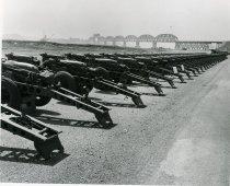 Image of artillery and bridge - 2013.015.0150