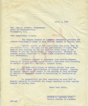 Image of Letter - April 1961 - 2008.004.0025