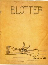 Image of BHS Blotter 1936 - 2012.018.0003