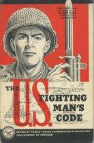 Image of Book: The U.S. Fighting Man's Code - 1959 - 1996.036.0001