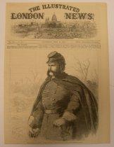 Image of The Illustrated London News 1862 - Gen. Burnside - 2013.017.0106