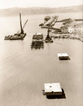 Image of dock at Humble Oil - 1999.011.0503